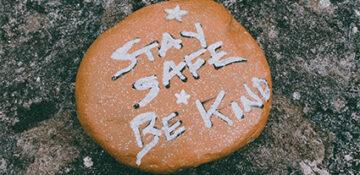 corona stay safe be kind