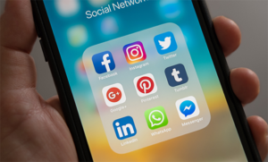 social media apps op telefoon